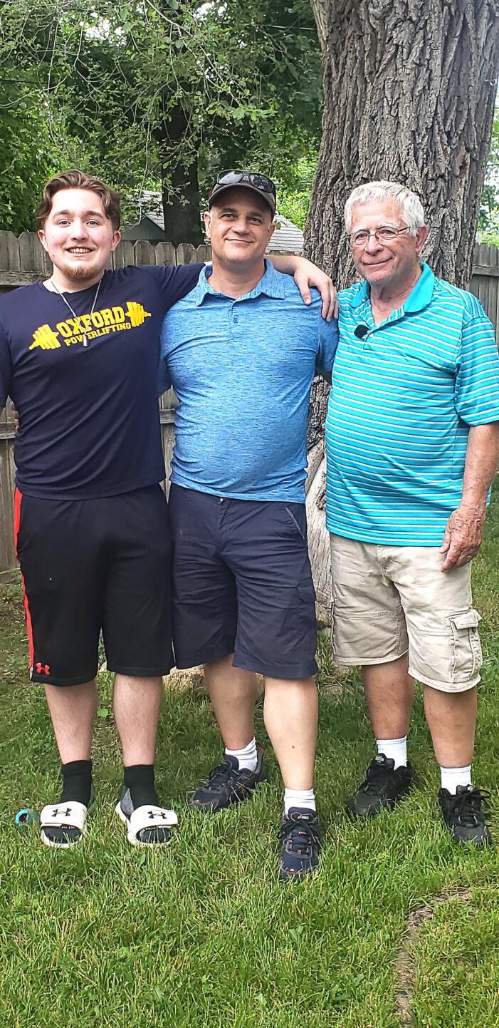 Three generations of Eagles