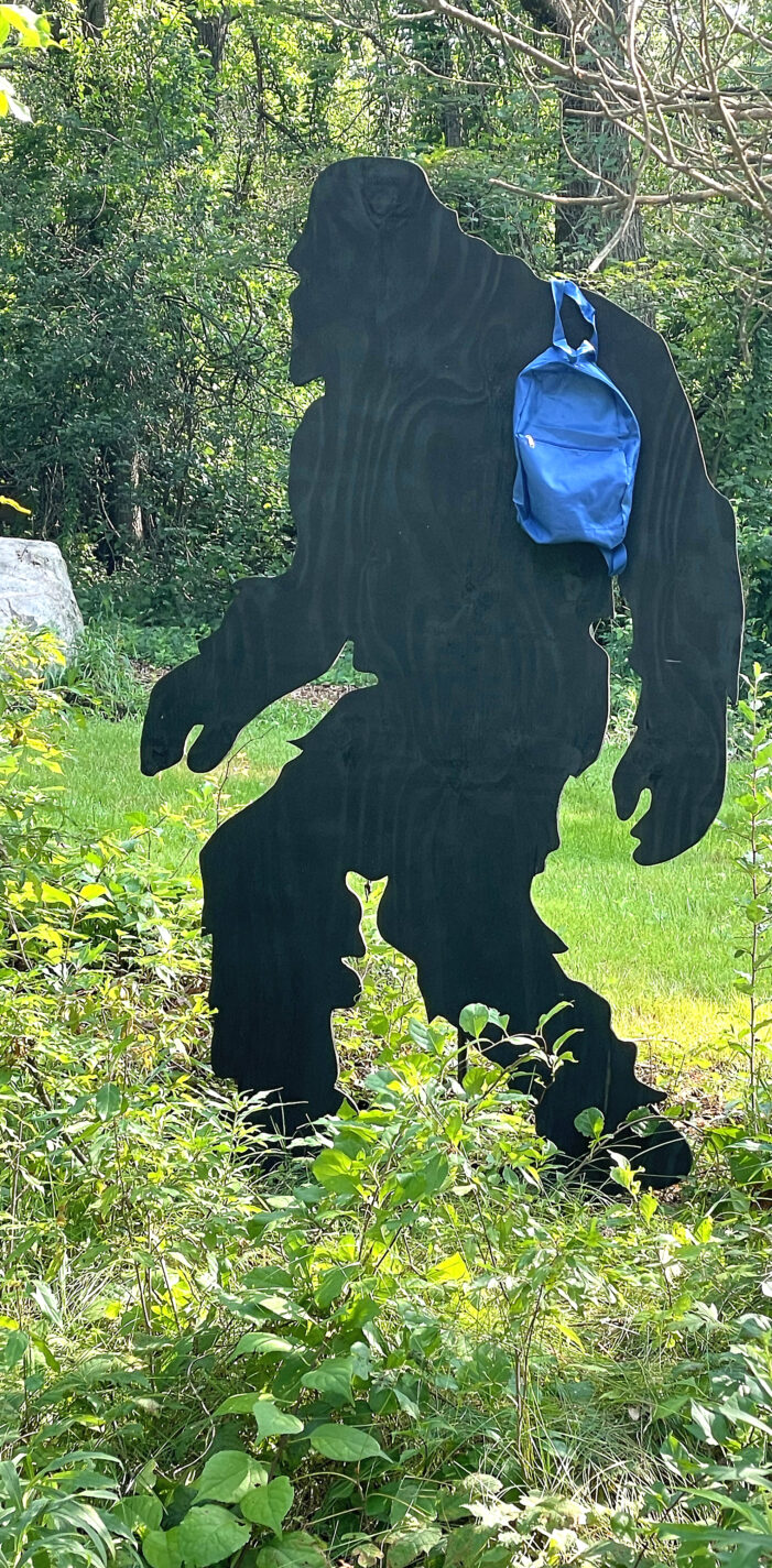 Bigfoot spotted, again!