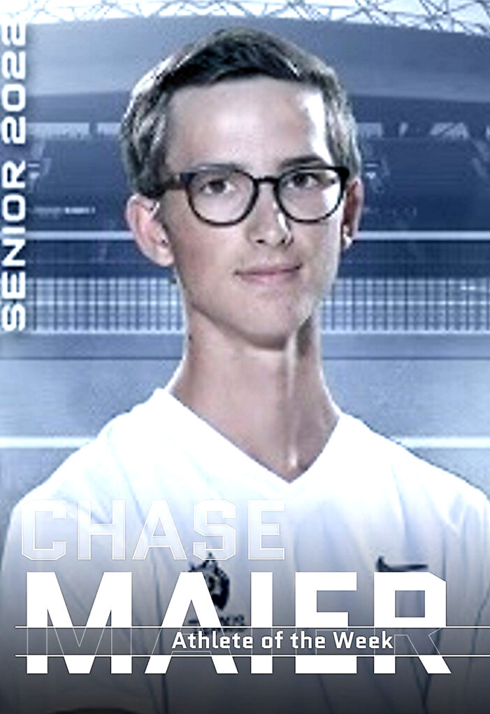Athlete of the Week: Chase Maier – Varsity Tennis