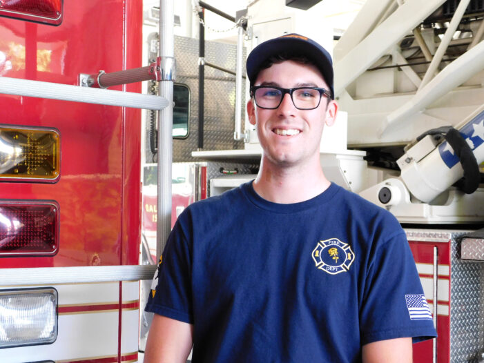 Oxford native joins Fire Department
