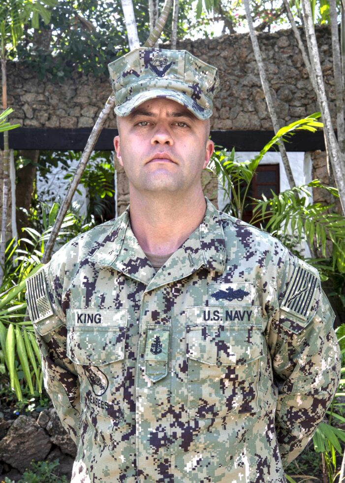 Oxford man sees the world as a Navy reservist