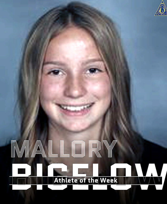 Athlete of the Week: Mallory Bigelow