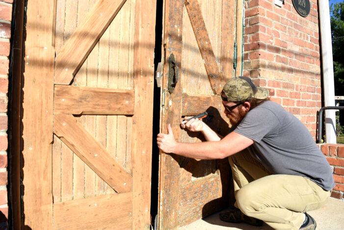 143-year-old church doors restored