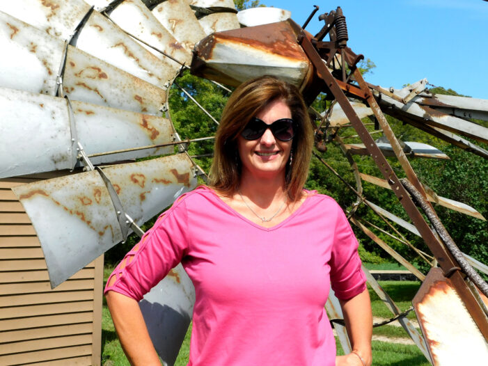 Nearly 90-year-old windmill comes down, moved to Lapeer
