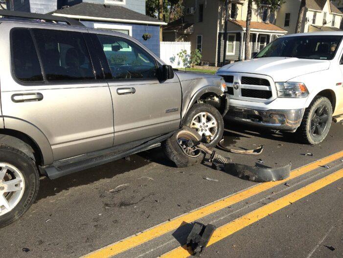 Collision 'looked horrific' but nobody hurt