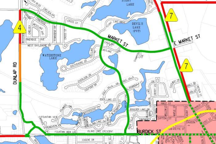 Footpath loop to be completed