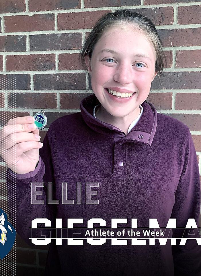 Athlete of the Week: Ellie Gieselman