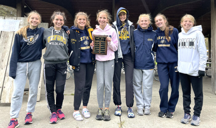 Girls XC champs ready for regionals