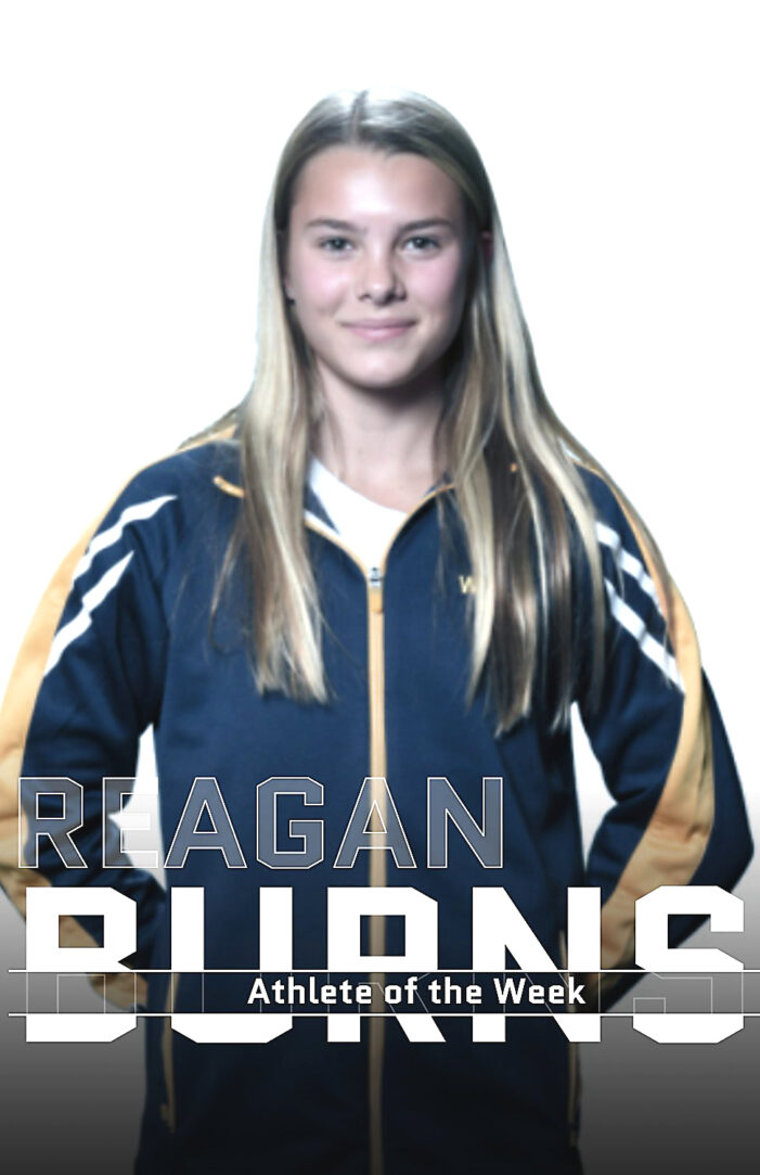 Athlete of the Week: Reagan Burns – Swim & Dive